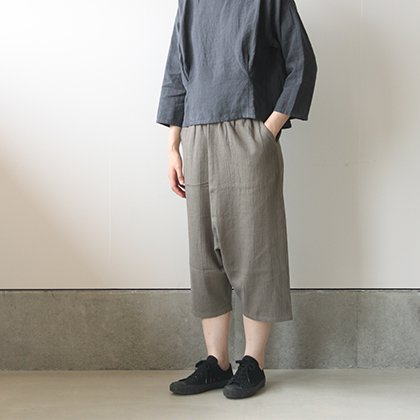 twill voile easy pants