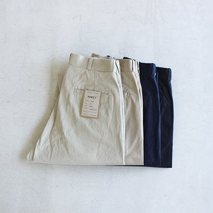 CHINO CLOTH PANTS WIDE TAPERED(30.32)