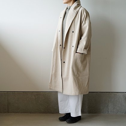 Shawl Collar Wide Coat
