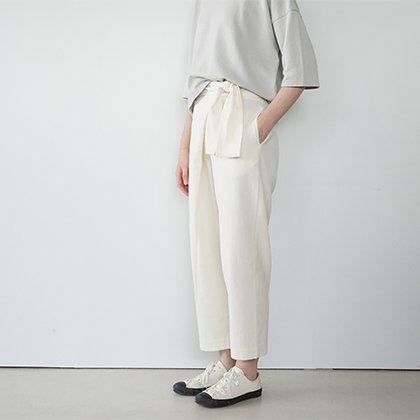 cotton wrap pants