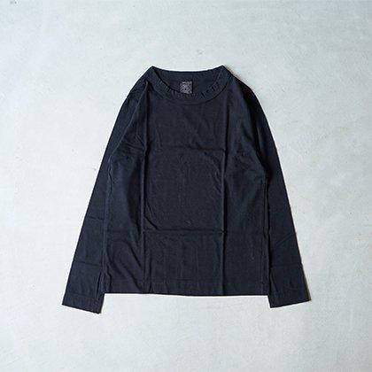 天竺長袖Tシャツ ブラック