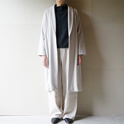 wool wide coat