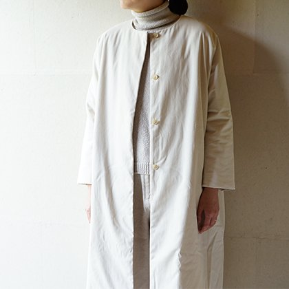 padding dolman long coat
