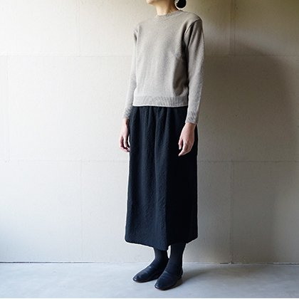 wool sable pullover