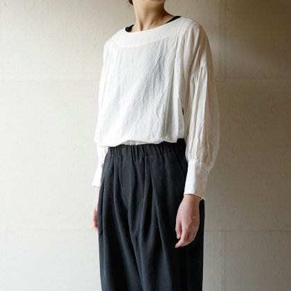 霞立つ朝prayer pullover blouse