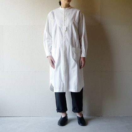 雨跡残るsleeping shirt dress
