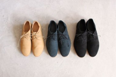 nubuck derby shoes