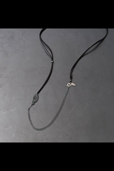 LEATHER CORD NECKLACE LFN-F