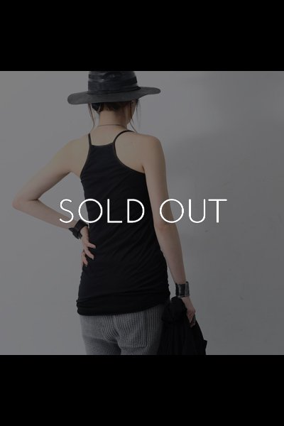 DOUBLE LAYERED TANK QRT_001_BLACK