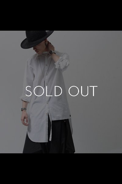ASYMMETRY SHIRT CC31_WHITE