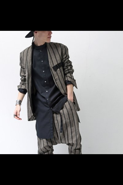 ASYMMETRY SHIRT CC31_BLACK