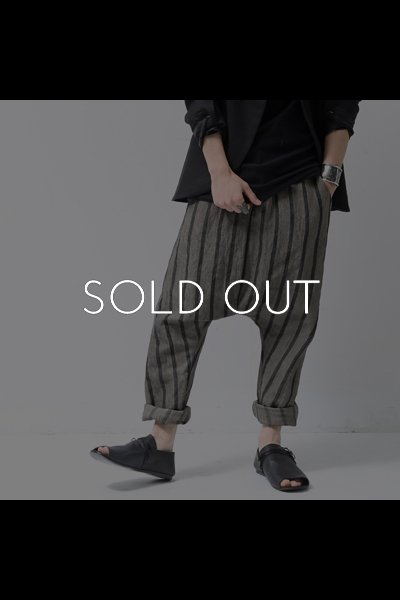 STRIPE SAROUEL PANTS  PP07