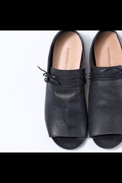 LEATHER SLIP-ON SHOES  SCARU3