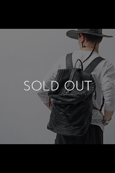 LAMB+BULL LEATHER BACKPACK DBJ006_BLACK