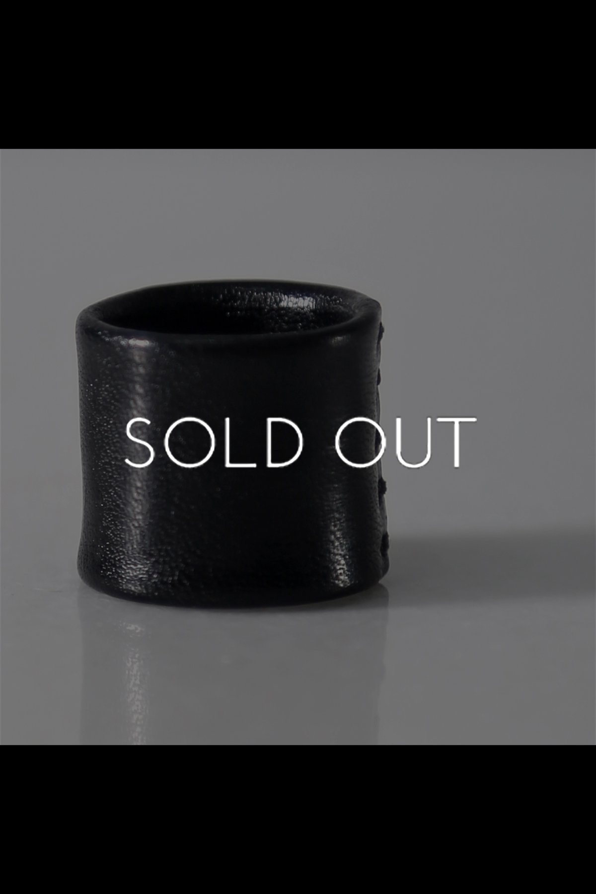 LEATHER RING ASE1_BLACK
