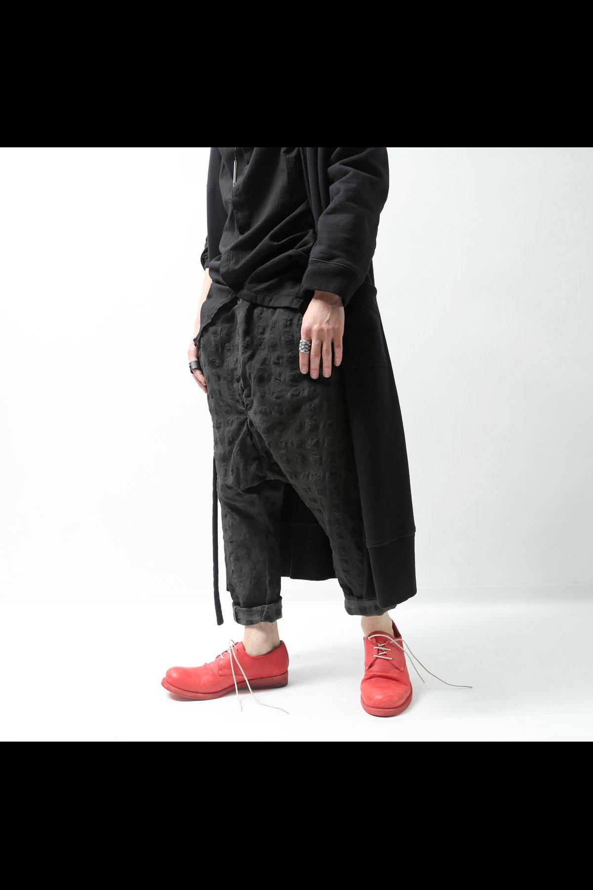 SARROUEL PANTS  P37_BLACK