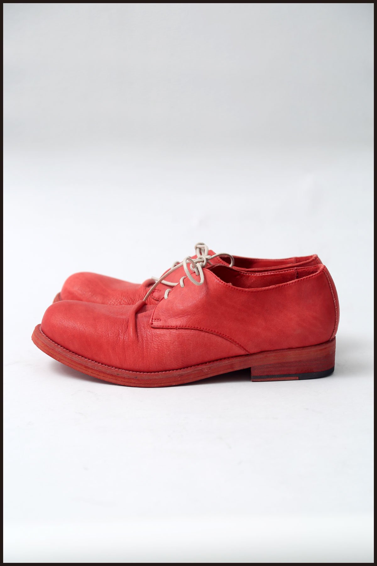 DERBY SHOES SCARU1_RED