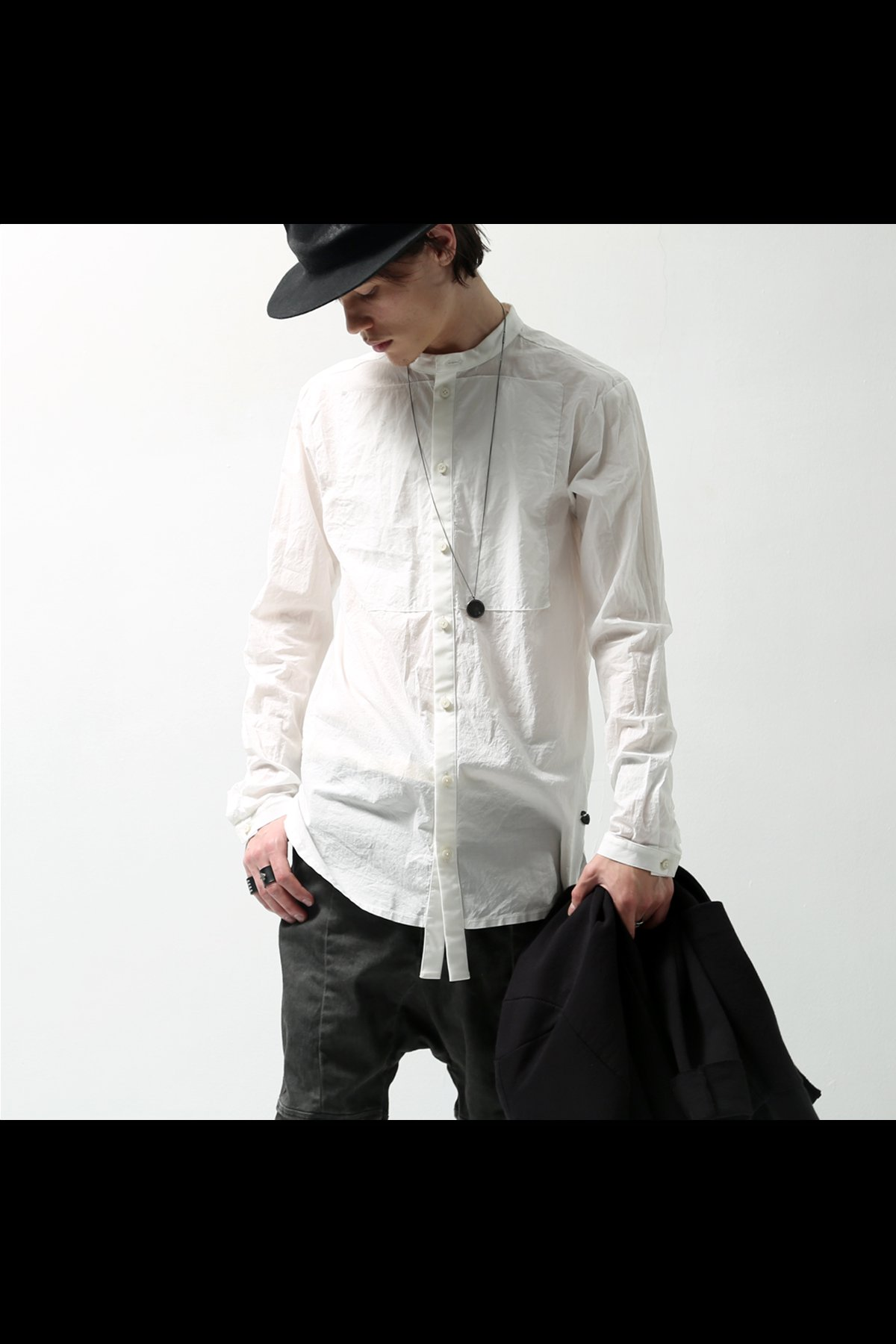 COTTON CASUAL SHIRT C31_OFF WHITE