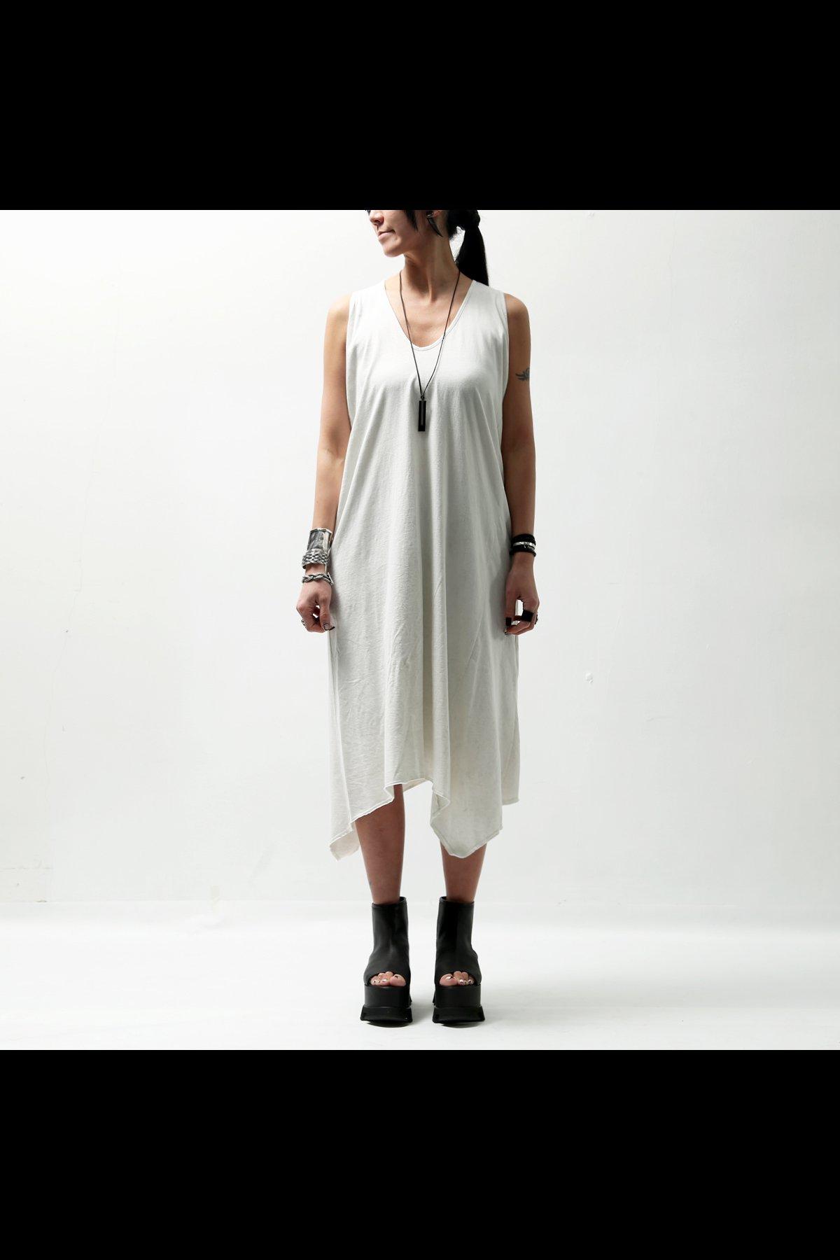SLEEVELESS LONG DRESS  533RO_OFF WHITE