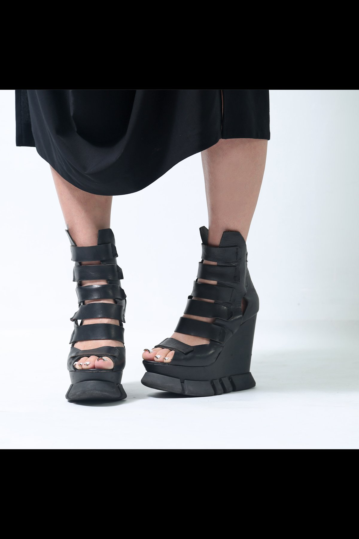 GLADIATOR WEDGE SANDALS CA647_406