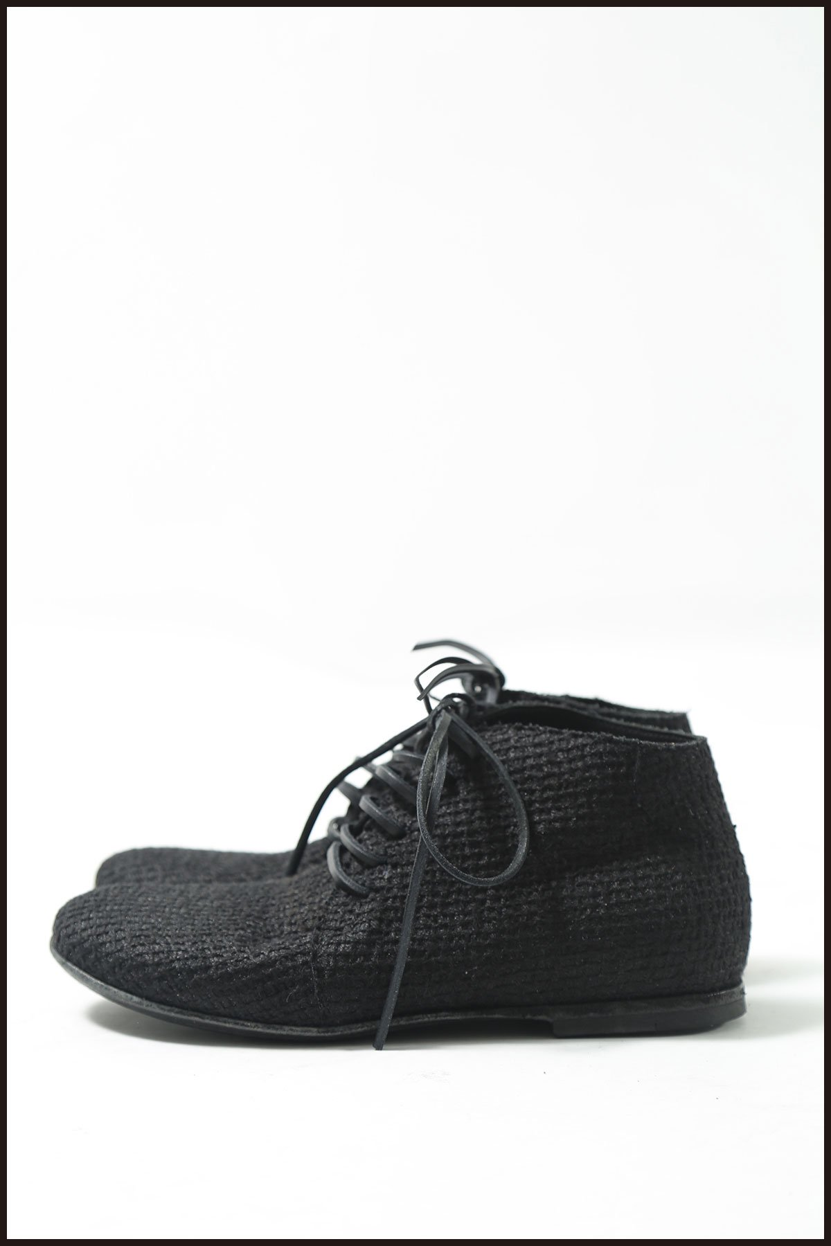 LACEUP MIDDLE SHOES 146 5207_BLACK