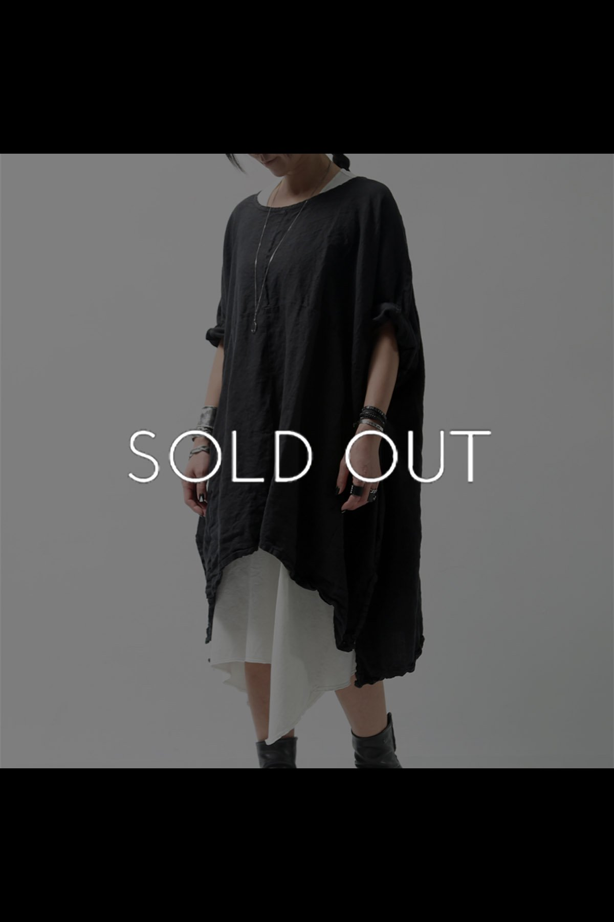 OVERSIZED LONG TOP 1901_05_1006 BLACK