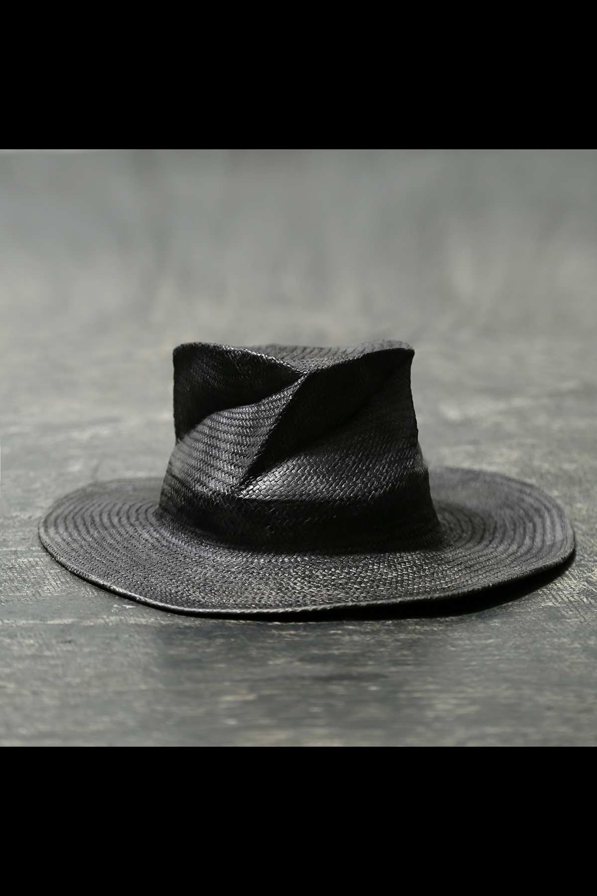 COLLAPSOBLE STRAW HAT MOD29_8cm_PIOMBO