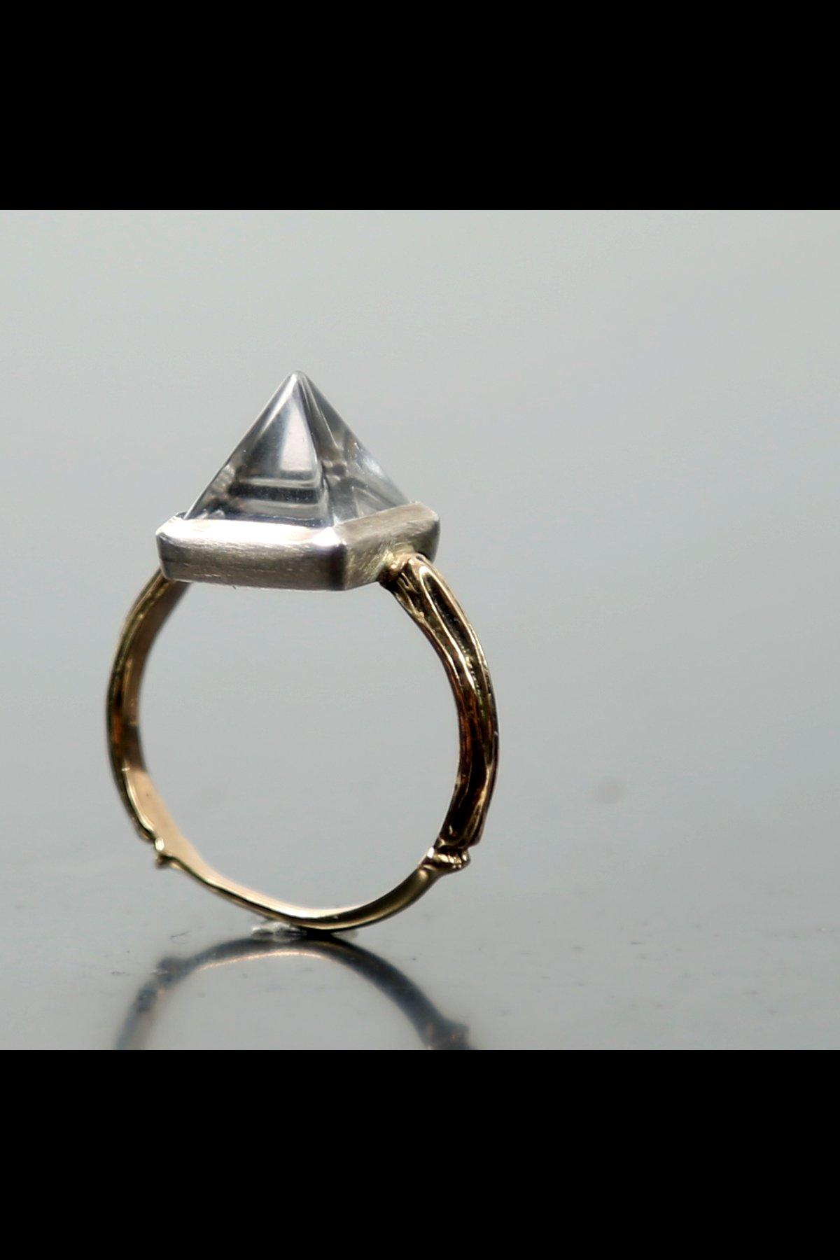 Pyramid Ring N.8S-OCPR-L