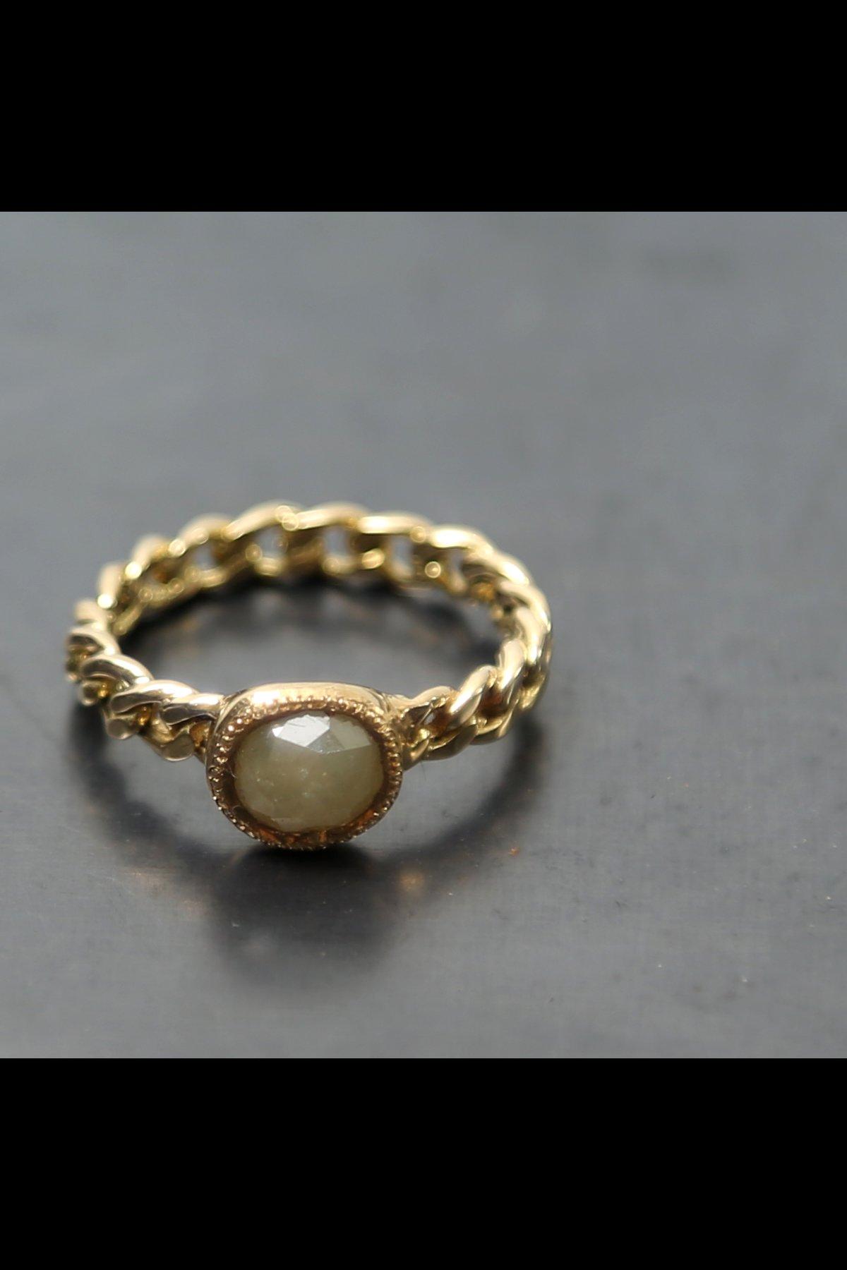 CLASSIC CHAIN DIAMOND RING N.8A-ODR4