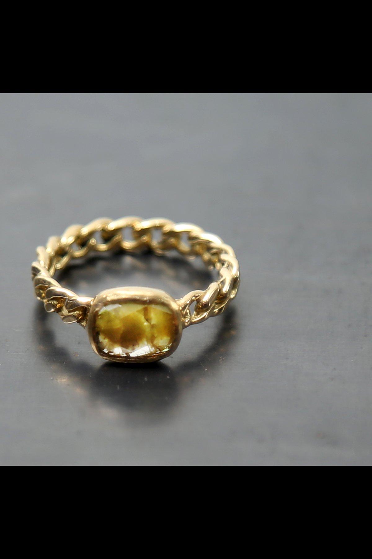 CLASSIC CHAIN DIAMOND RING N.8A-ODR3