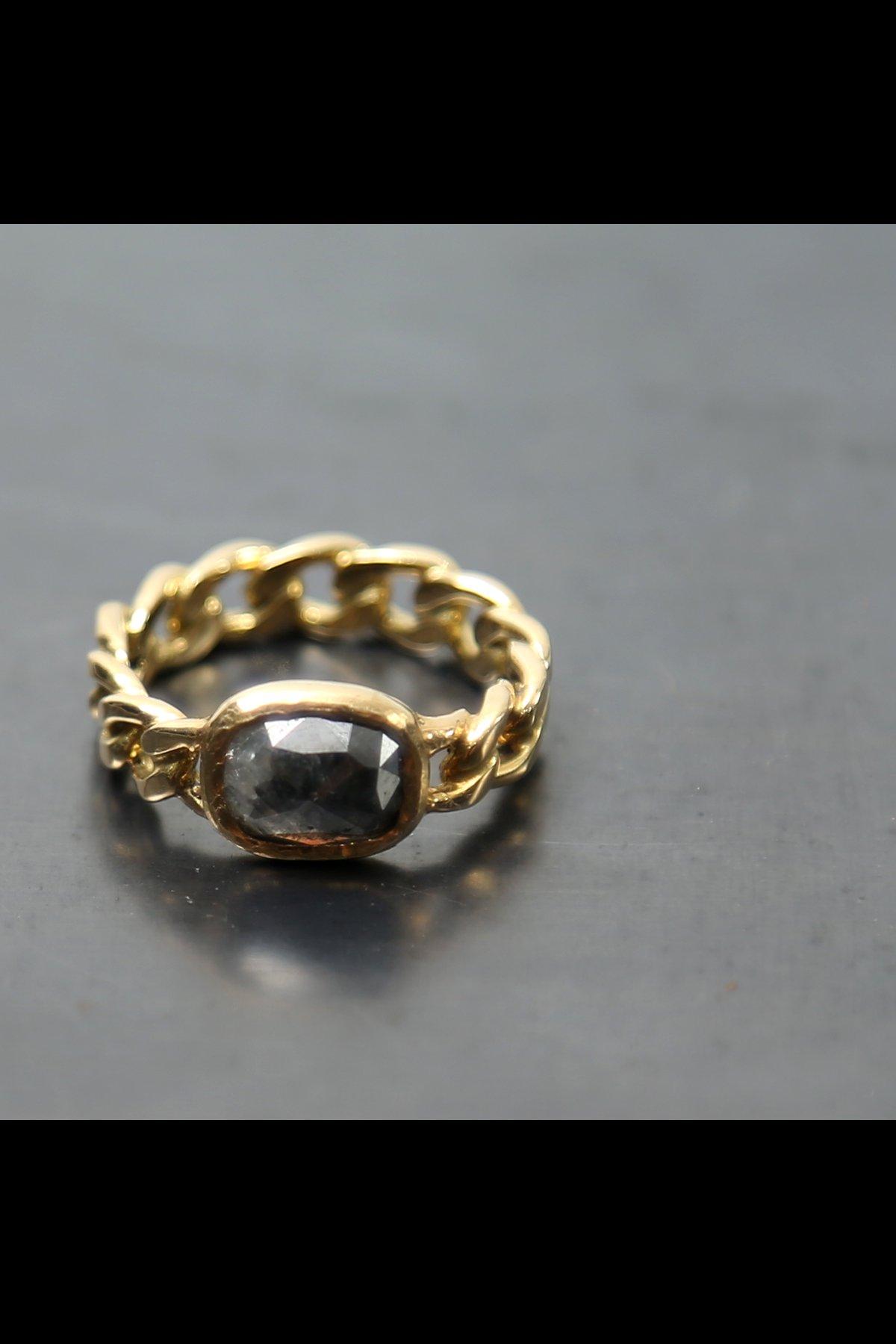 CLASSIC CHAIN DIAMOND RING N.8A-ODR1