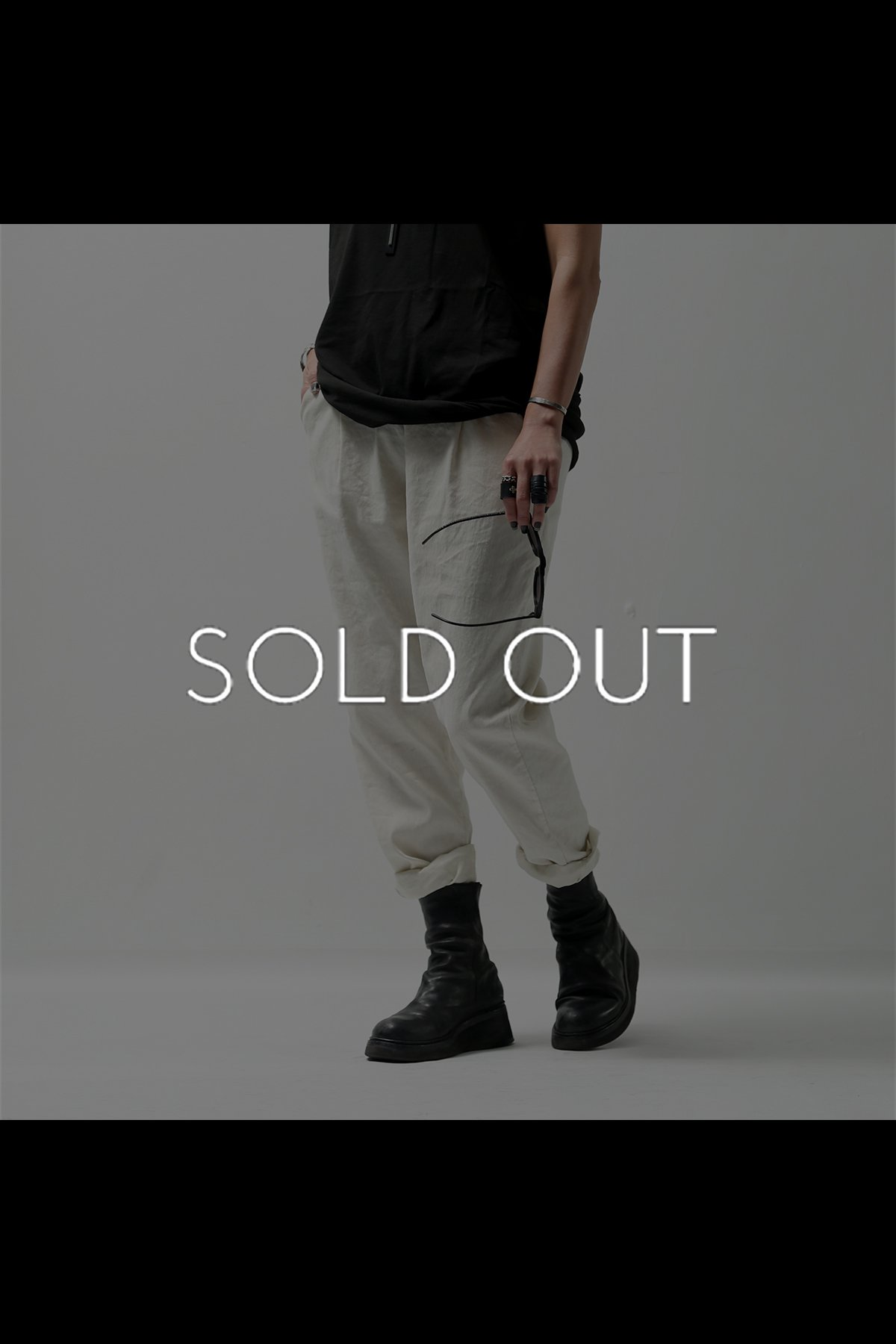 <img class='new_mark_img1' src='https://img.shop-pro.jp/img/new/icons8.gif' style='border:none;display:inline;margin:0px;padding:0px;width:auto;' />LINEN STRETCH PANTS 536LOS_OFF WHITE