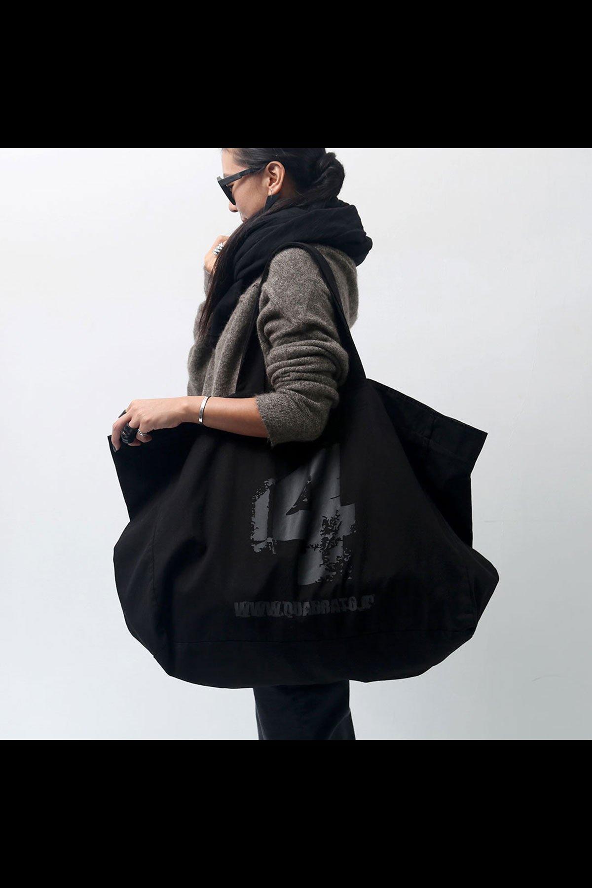 ORIGINAL MEGA TOTE BAG QRT005_BLACK