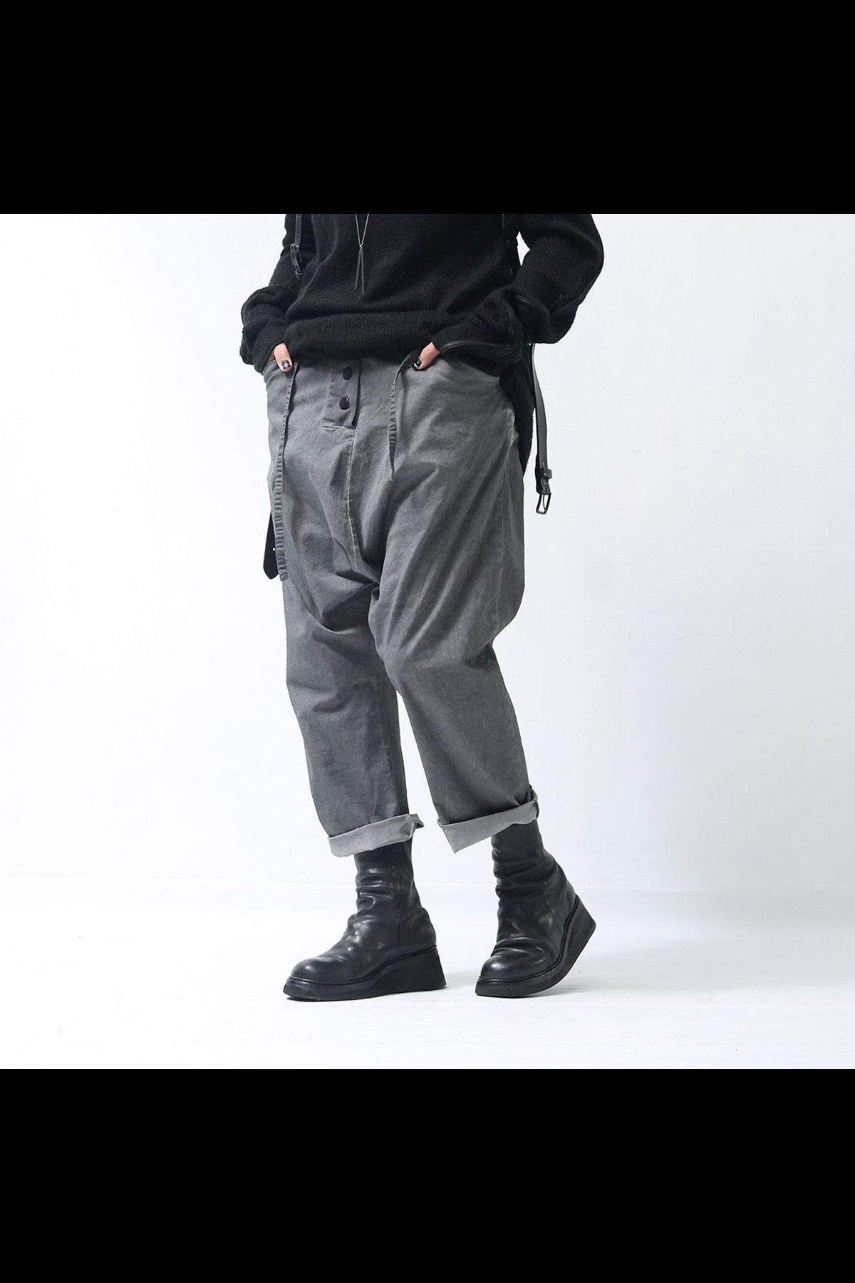 studio b3_UNISEX CROPPED PANTS