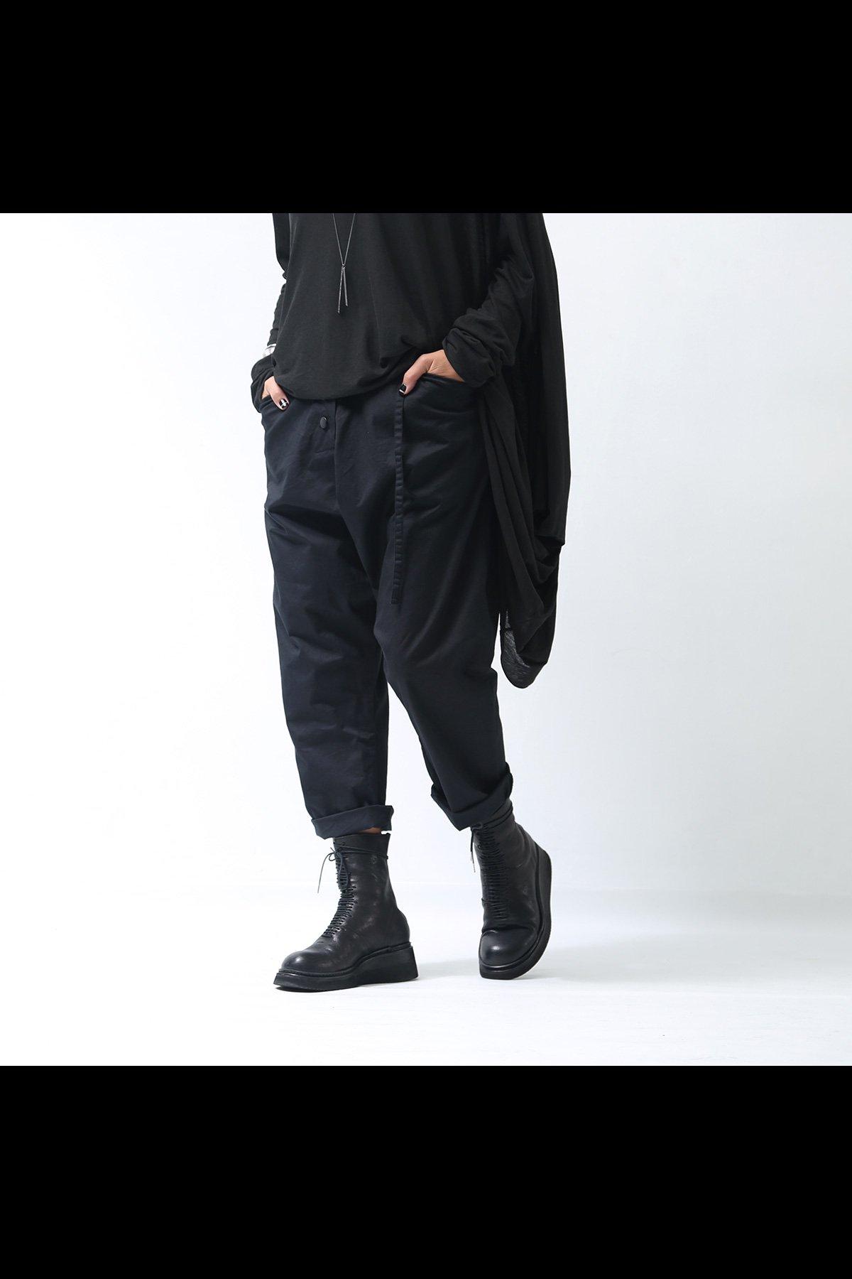 UNISEX CROPPED PANTS SB794_BLACK