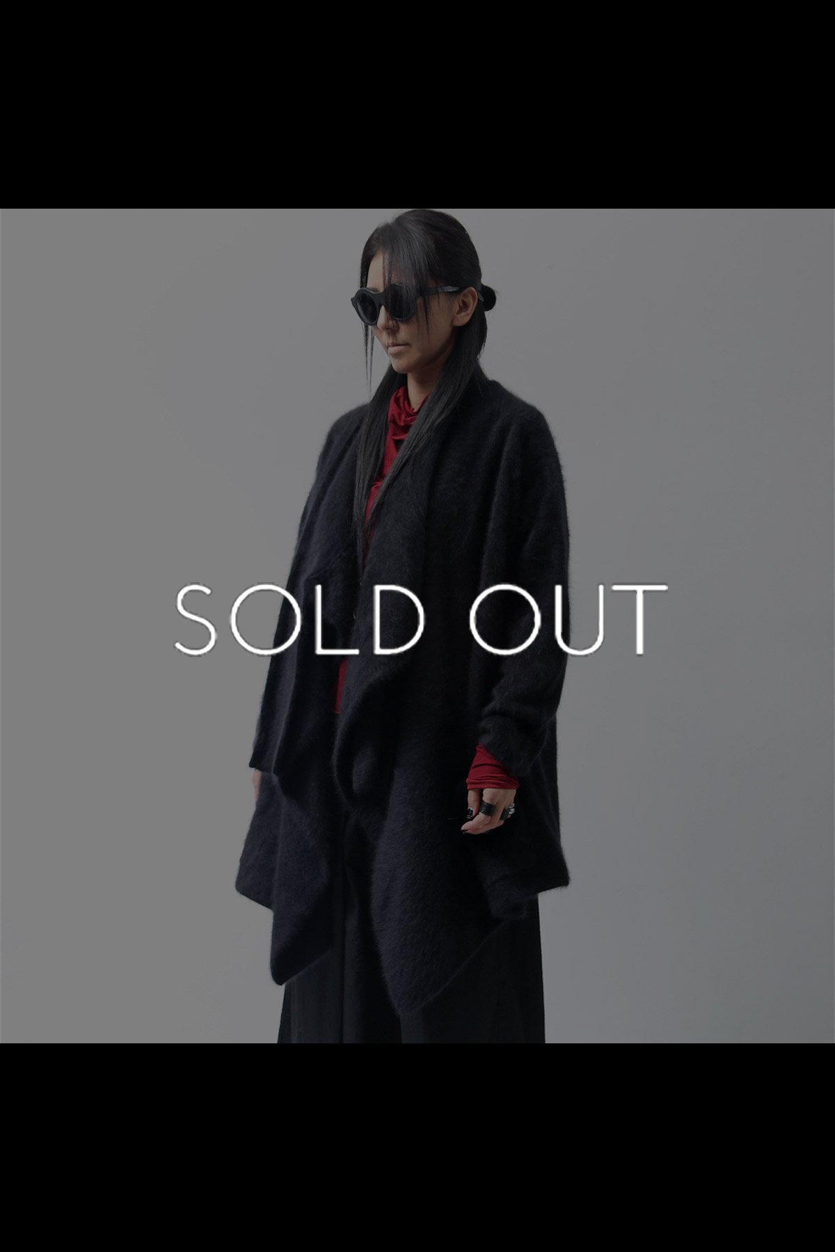 <img class='new_mark_img1' src='https://img.shop-pro.jp/img/new/icons8.gif' style='border:none;display:inline;margin:0px;padding:0px;width:auto;' />RACOON KNIT CARDIGAN 141 7206_BLACK