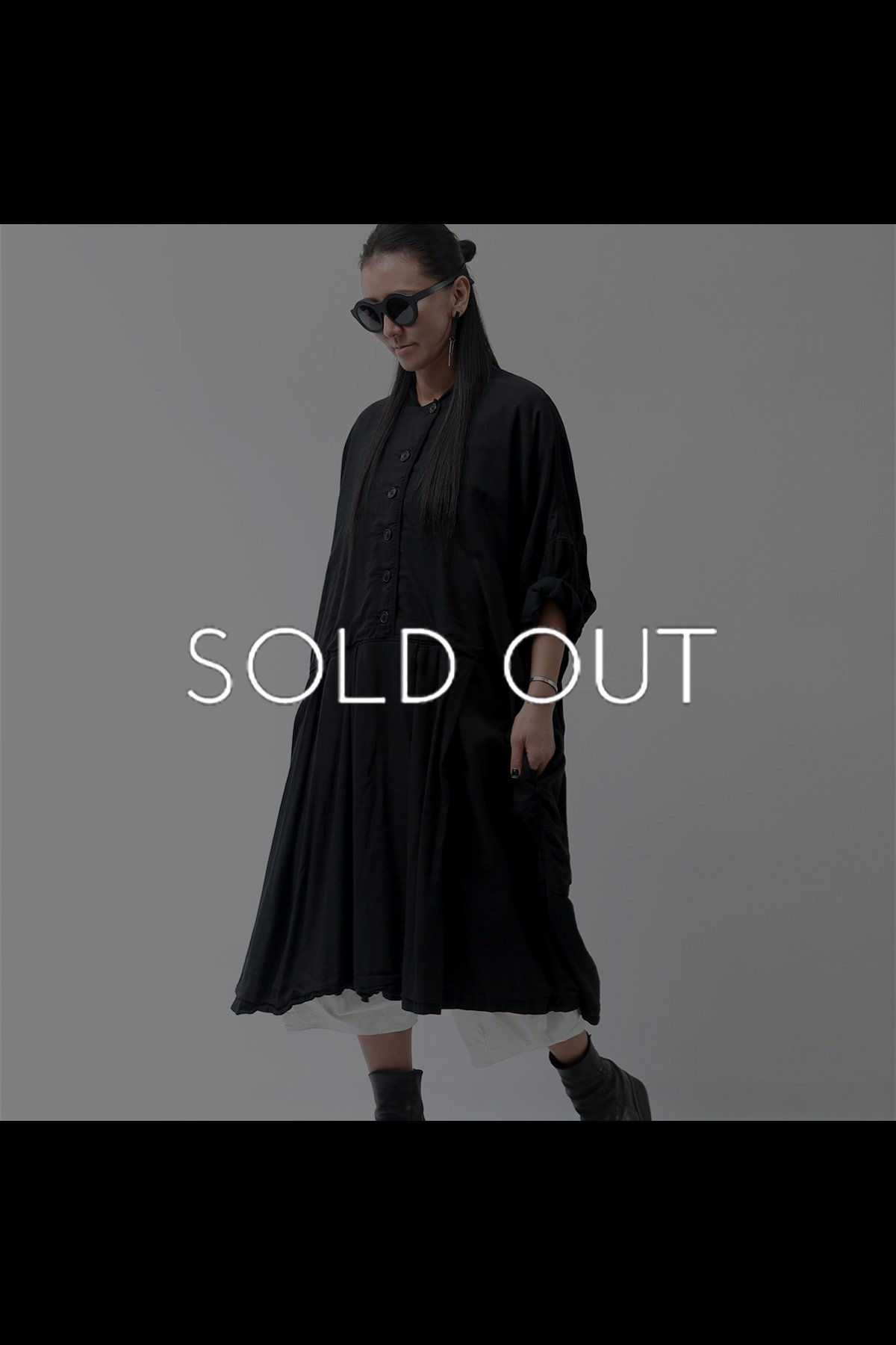 OVERSIZED DRESS 216 0908_BLACK