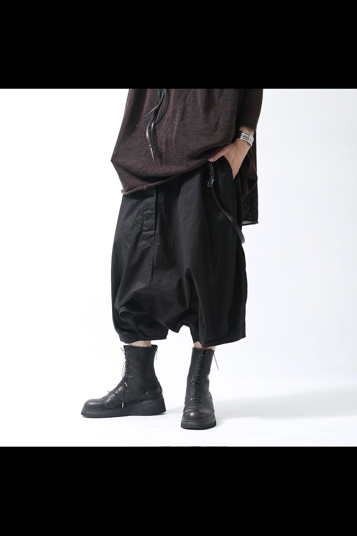 UNISEX BALLOON PANTS 220 0102_BLACK