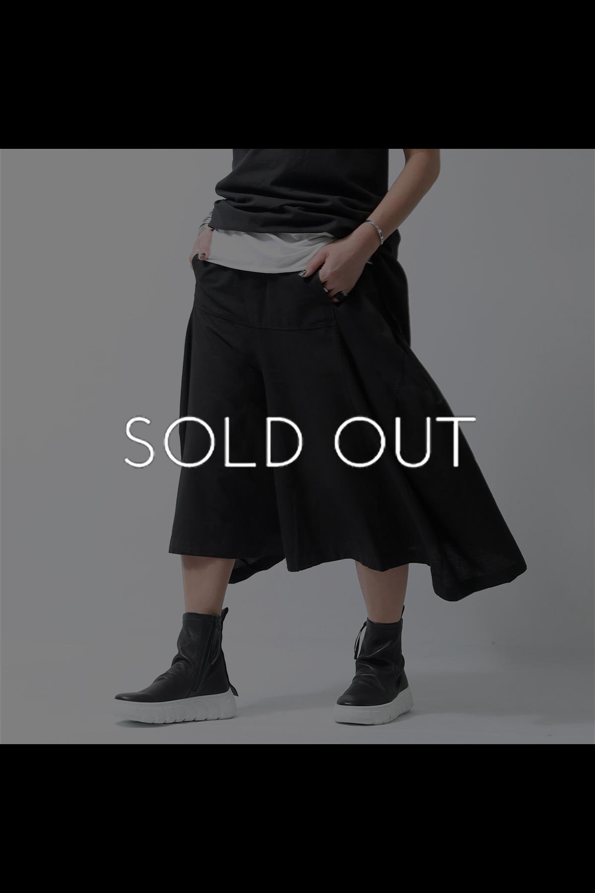 <img class='new_mark_img1' src='https://img.shop-pro.jp/img/new/icons8.gif' style='border:none;display:inline;margin:0px;padding:0px;width:auto;' />COTTON LINEN FLARE PANTS  219CL_BLACK