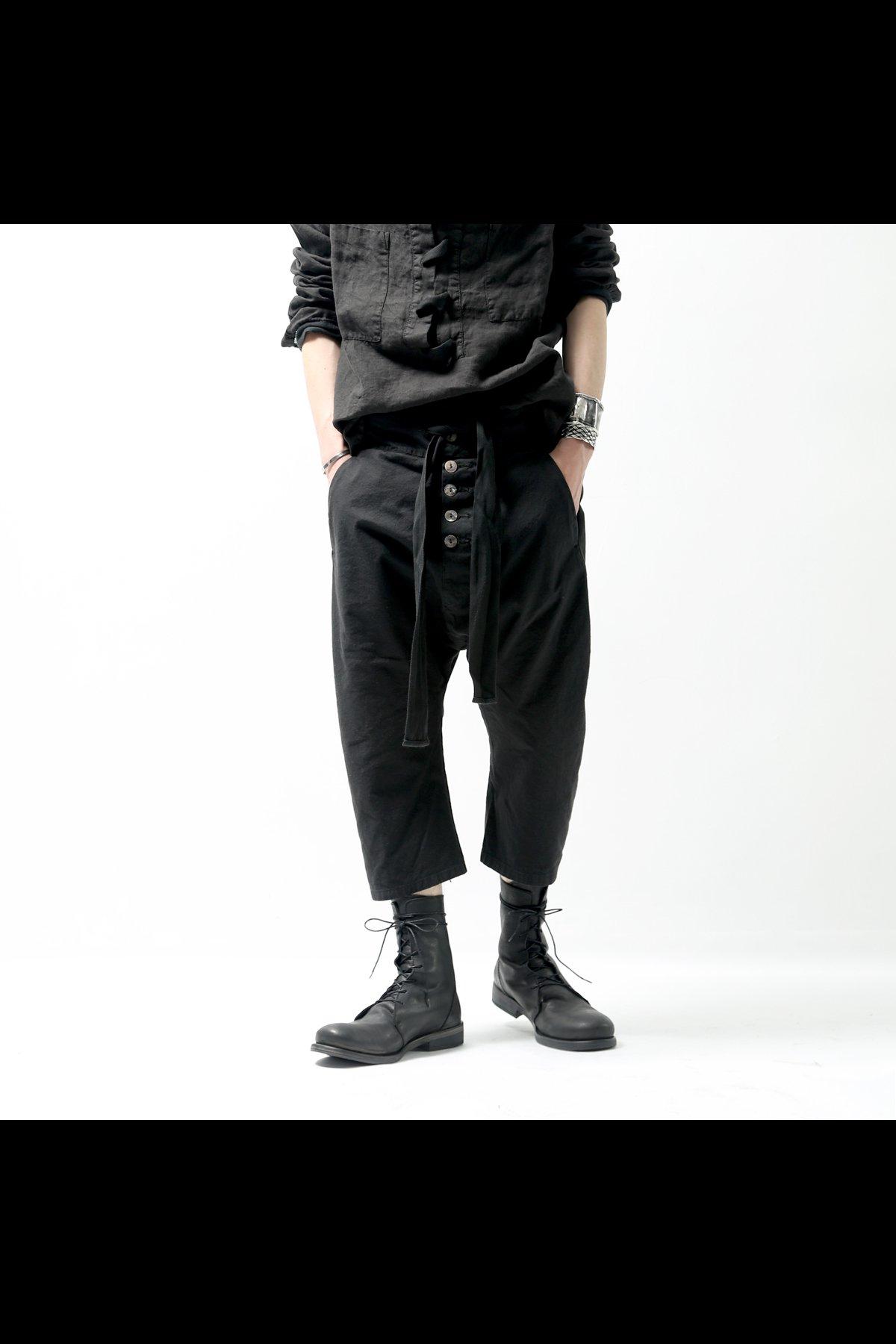 CROPPED LENGTH PANTS 26.02.01_BLACK
