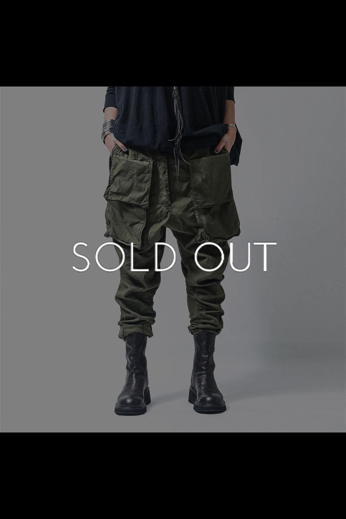 MILITARY PANTS 260 0102_MOSS(GREEN)