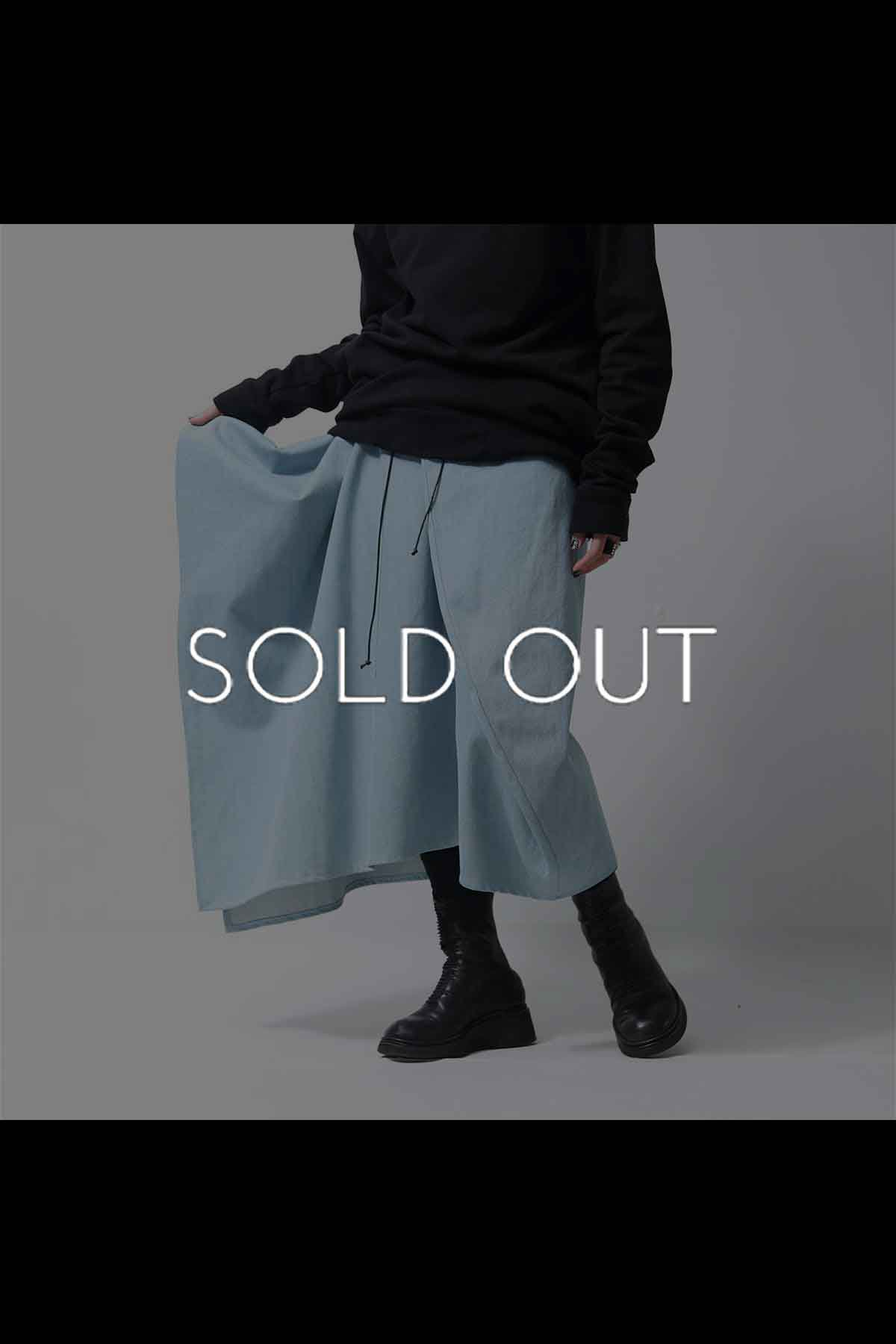 <img class='new_mark_img1' src='https://img.shop-pro.jp/img/new/icons56.gif' style='border:none;display:inline;margin:0px;padding:0px;width:auto;' />UNISEX DENIM BUBBLE PANTS GABP-44