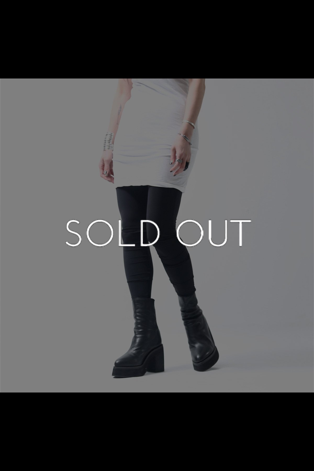 UNISEX STRETCH LEGGINGS 140QP02_BLACK