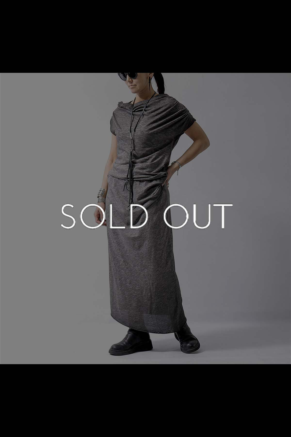 <img class='new_mark_img1' src='https://img.shop-pro.jp/img/new/icons56.gif' style='border:none;display:inline;margin:0px;padding:0px;width:auto;' />DYED COTTON LONG DRESS D09_GREY