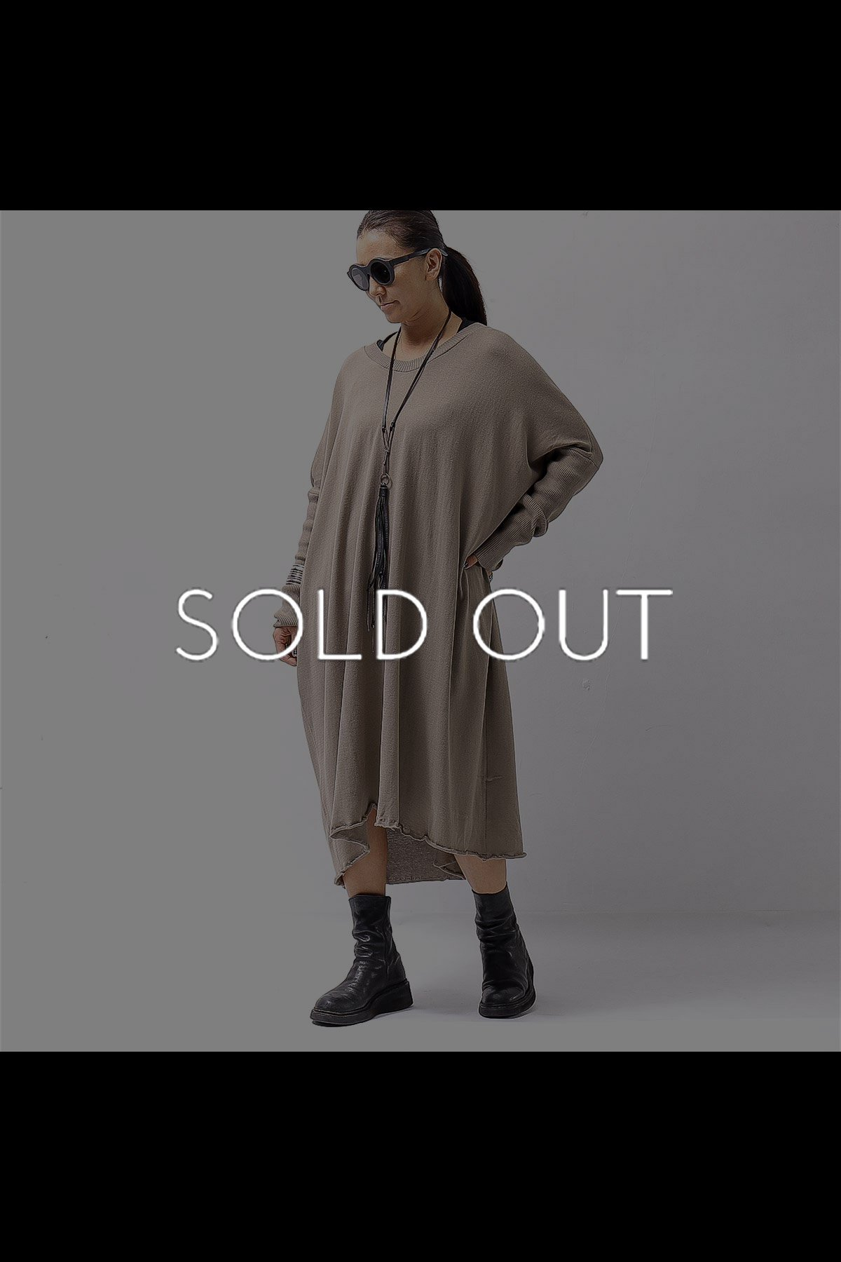 <img class='new_mark_img1' src='https://img.shop-pro.jp/img/new/icons8.gif' style='border:none;display:inline;margin:0px;padding:0px;width:auto;' />COTTONE KNIT DRESS VB1169_DEEP BEIGE