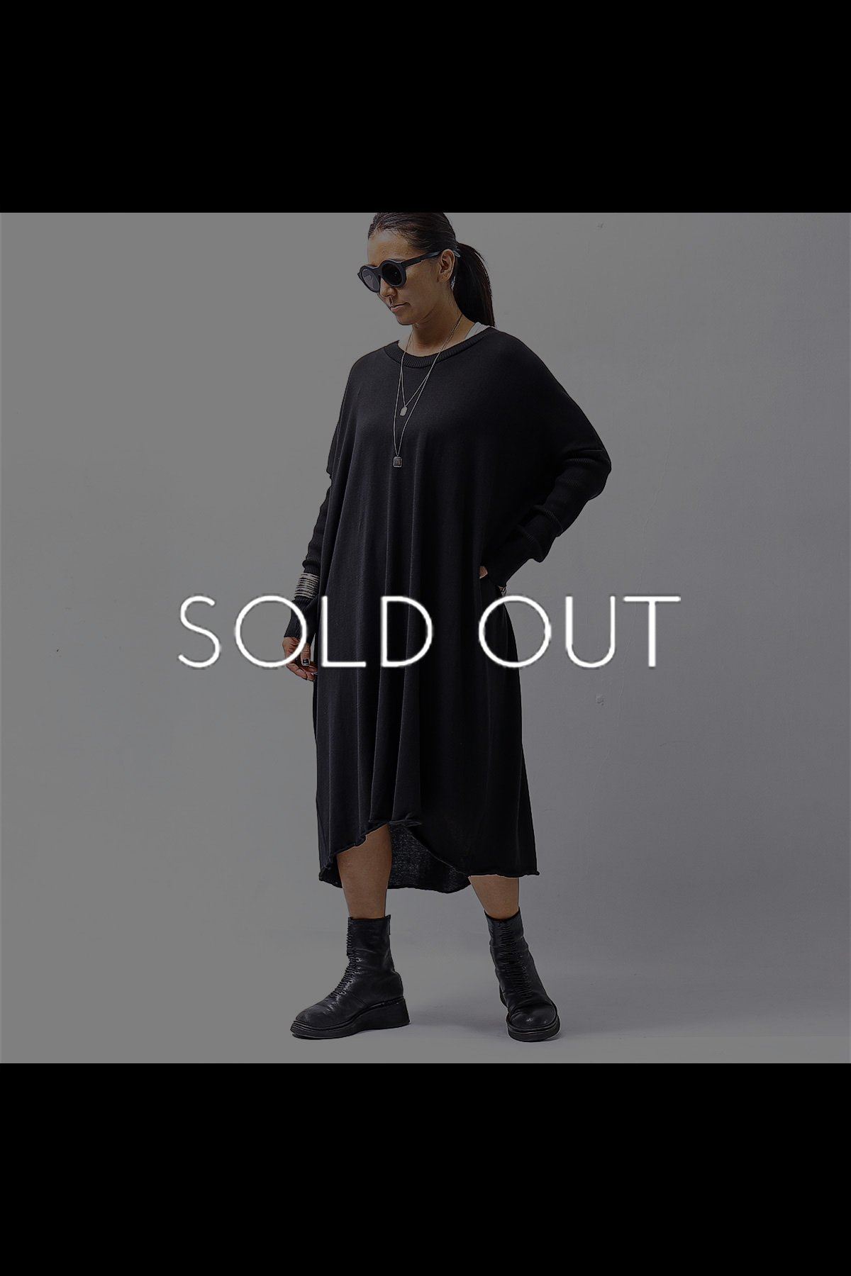 <img class='new_mark_img1' src='https://img.shop-pro.jp/img/new/icons8.gif' style='border:none;display:inline;margin:0px;padding:0px;width:auto;' />COTTONE KNIT DRESS VB1169_BLACK