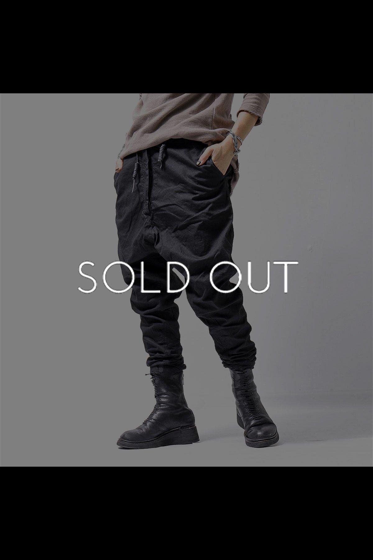 UNISEX SARROUEL PANTS PANTS 260 0102_BLACK