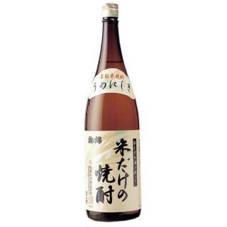 米だけの焼酎 1.8L(箱なし)