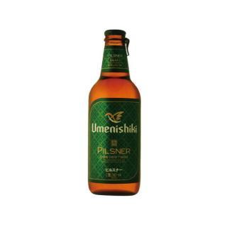 梅錦ビール ピルスナー 330ml