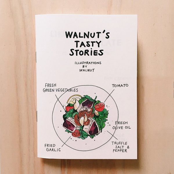ZINE 『WALNUT'S TASTY STORIES』